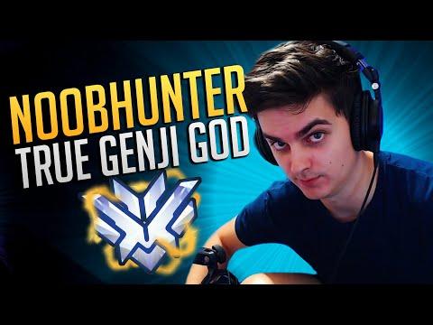 BEST OF NOOBHUNTER - TRUE GENJI GOD | Overwatch Noobhunter Montage