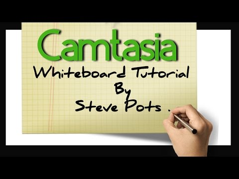 Camtasia Whiteboard Animation Tutorial - Free Download