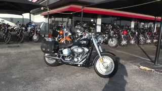 3. 026672 - 2011 Harley Davidson Softail Fat Boy FLSTF - Used Motorcycle For Sale