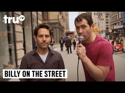 Video Billy on the Street - Would You Have Sex with Paul Rudd? download in MP3, 3GP, MP4, WEBM, AVI, FLV February 2017