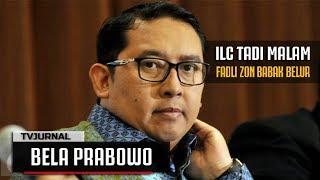 Video ILC TADI MALAM : Semakin Dibela, PRABOWO Semakin Kelihatan Jah@tnya , Wadaw... MP3, 3GP, MP4, WEBM, AVI, FLV April 2019