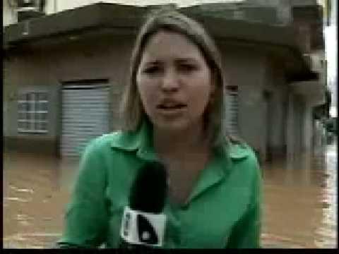 Gazeta Notícia - Chuva em Bom Jesus do Norte - 5/1/09