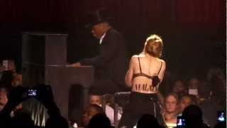 Madonna - Human Nature/Malala Speech/Like A Virgin (MDNA Tour At Staples 10/11/12)
