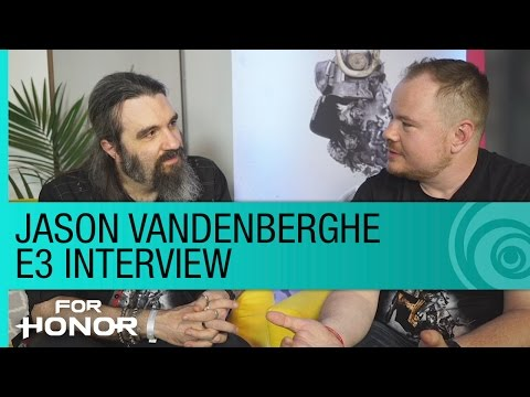 For Honor – Jason Vandenberghe E3 Interview at the Uplay Lounge