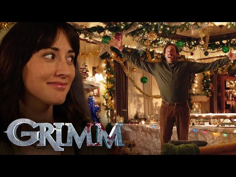 Monroe and Rosalee First Christmas! | Grimm