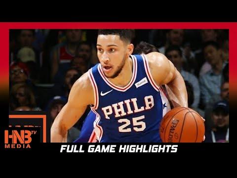 Philadelphia 76ers vs Detroit Pistons Full Game Highlights / Week 2 / 2017 NBA Season (видео)