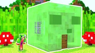Video HOW TO LIVE INSIDE A SLIME IN MINECRAFT! MP3, 3GP, MP4, WEBM, AVI, FLV Mei 2019