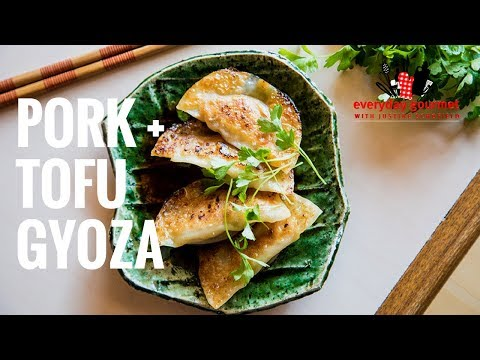 Pork & Tofu Gyoza | Everyday Gourmet S7 E78