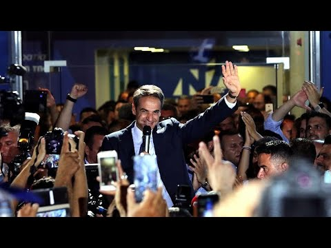 Griechenland: Wahlsieg des konservativen Mitsotakis