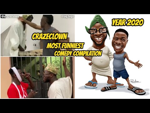 Crazeclown Comedy Compilation (latest Dr.Craze Comedy 2020 ft Nastyblaq, Speed Darlington and More)