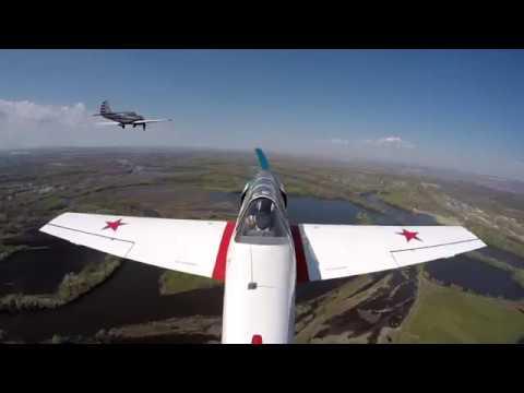 Опубликовано видео с самолетов - участников парада Победы в Самаре