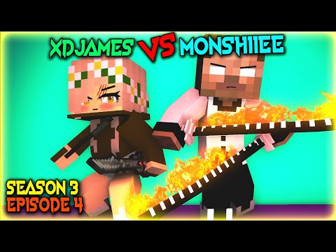 MONSTER SCHOOL: MONSHIIEE VS XDJAMES SEASON 3 EPISODE 4