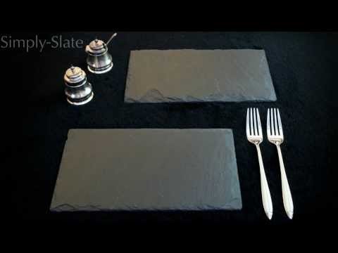 Simply Slate Serving Platter Range