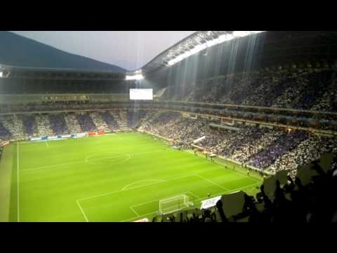 Recibimiento al Monterrey semifinal vuelta - La Adicción - Monterrey