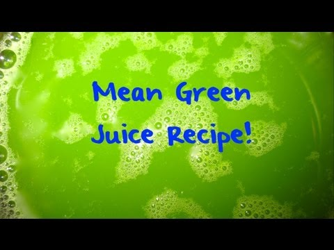MEAN GREEN JUICE  RECIPE -- (Fat Sick And Nearly Dead  Movie)  ✅