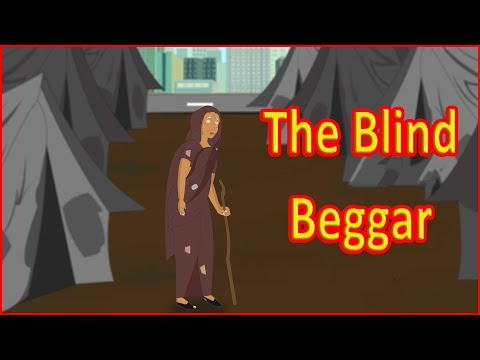 The Blind Beggar | Moral Stories | English Cartoon | Maha Cartoon TV English