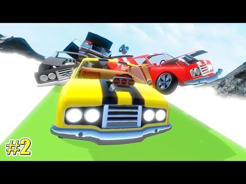 Crash Wheels СМЕРТЕЛЬНЫЕ ГОНКИ (2 серия) (видео)