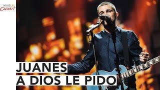 Juanes cantó en vivo en la ceremonia de los Premios Nobel.