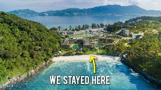 Video 5-STAR LUXURY RESORT in Thailand ♦ Phuket Travel Vlog MP3, 3GP, MP4, WEBM, AVI, FLV Juni 2019