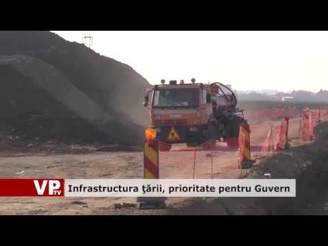 Infrastructura țării, prioritate pentru Guvern