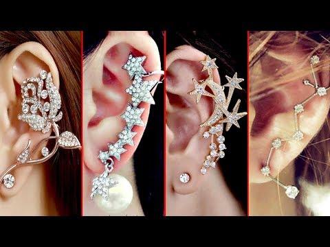 Latest & stylish ear cuffs earrings for women- Latest Trendy Jewelry For Ladies