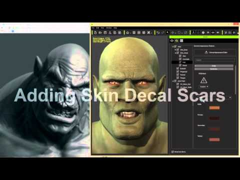 iClone Character Creator Tutorial - Advanced Facial Modification: Orc