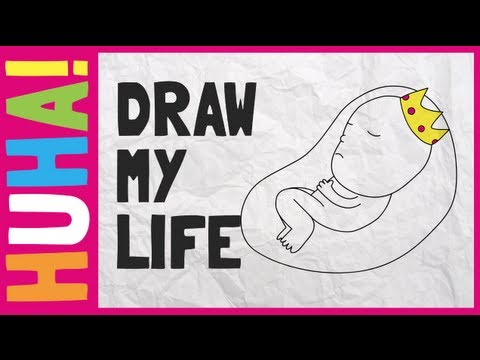 Draw My Life Royal Baby Video 2013 Chortle The Uk Comedy Guide