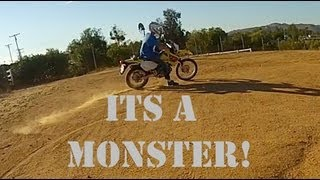 3. Suzuki DRZ 400 First Ride