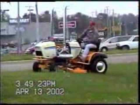 V8 Powered Lawnmower -  The