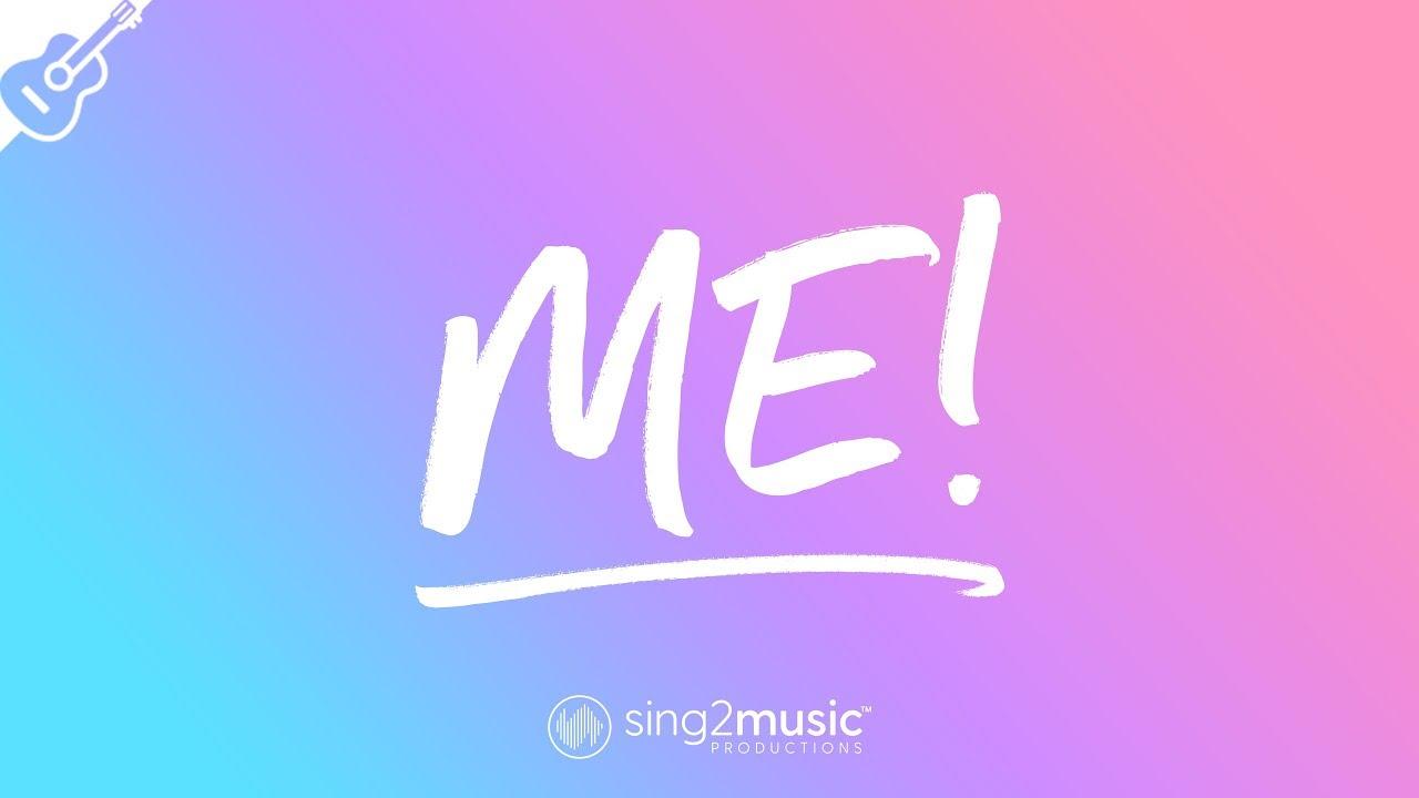 ME! (Lower Key – Acoustic Guitar Karaoke) Taylor Swift & Brendon Urie