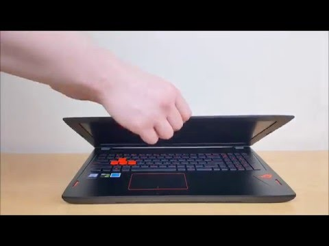 ASUS GL502  Unboxing and Quick Look