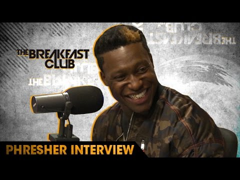 Phresher Gives Advice To Nicki Minaj, Talks Linking Up with Riff Raff, Desiigner & More W/ The Breakfast Club