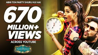 Video 'Abhi Toh Party Shuru Hui Hai' FULL VIDEO Song | Khoobsurat | Badshah | Aastha MP3, 3GP, MP4, WEBM, AVI, FLV Mei 2018