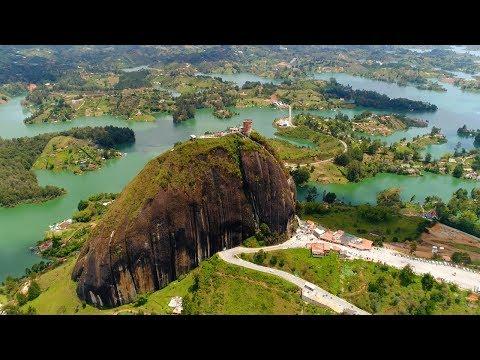 CLIMBING A GIANT ROCK IN GUATAPÉ, COLOMBIA (EL PEÑOL TRAVEL VLOG) | Eileen Aldis