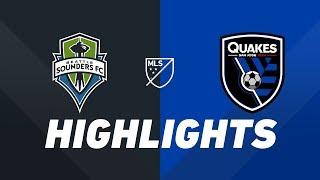 Seattle Sounders FC vs. San Jose Earthquakes   HIGHLIGHTS - April 24, 2019 by Major League Soccer