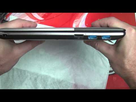 Toshiba Satellite U845W Unboxing