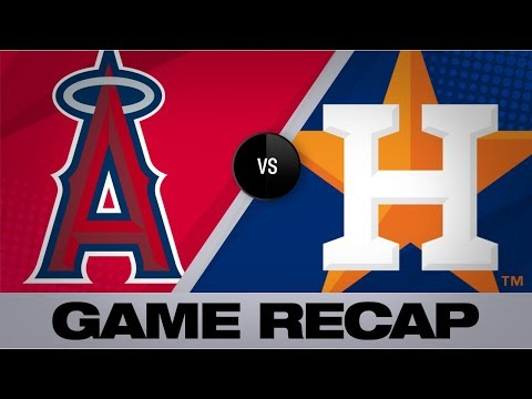 Video: Fletcher's all-around game leads Angels past Astros | Angels-Astros Game Highlights 9/21/19
