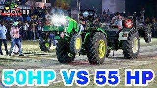 John Deere 5050 D Vs Swaraj 855 Tractor Tochan Punjab