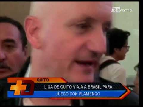 Liga de Quito viaja a Brasil para juego con Flamengo