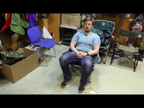 Складное кресло Greenell «Луна FC-21». Видеообзор.