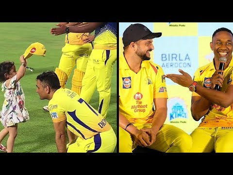 Csk 2018 I Inside Dressing Room  Vivo Ipl Funny videos