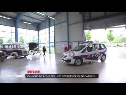 Camions de pompiers : les secrets de fabrication !