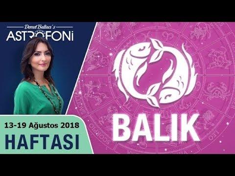 BALIK Burcu 13-19 Ağustos 2018 HAFTALIK Burç Yorumu, Demet Baltacı (видео)