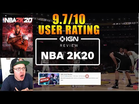 Reacting to NBA 2K20 Review