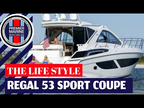 Regal 53 Sport Coupevideo