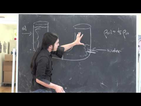 fluid mechanics - A quick fluid mechanics problem. Online reviews: www.sWartwoodONLINE.com Testprep: www.sWartwoodprep.com.