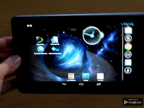 Video of GyroSpace 3D Live Wallpaper