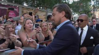 Nonton TIFF 2016 Leonardo DiCaprio At the Before the Flood Red Carpet. Film Subtitle Indonesia Streaming Movie Download