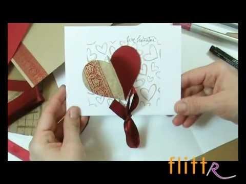 Einladungskarten Hochzeit selber machen - Hochzeitseinladungen basteln