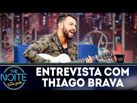 Entrevista com Thiago Brava   The Noite (15/08/18)